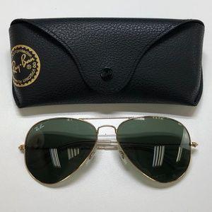 🕶️Ray-Ban Aviator RB3025 Sunglasses/722/TIE754🕶️